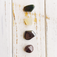 Load image into Gallery viewer, Pain Relief * Garnet, Hematite, Bloodstone &