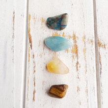 Load image into Gallery viewer, Speak Freely * Aquamarine, Chrysocolla, Citrine &