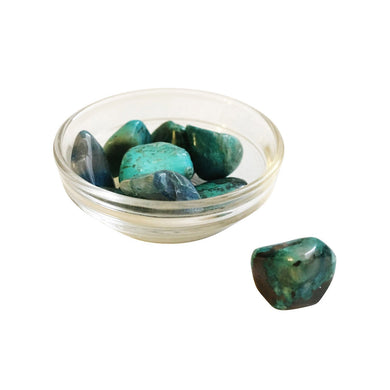 Chrysocolla Crystal Gemstones - 1, 3 or 5