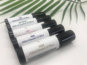 Awake Aromatherapy Essential Oil Blend With A Stainless Steel Roller
