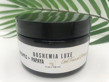 Load image into Gallery viewer, Luxurious Small Batch Vegan Pineapple Papaya Gel Masque - Boshemia Skin