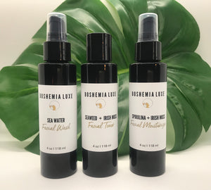 Luxurious Small Batch Vegan Sea Water Facial Wash - Boshemia Skin