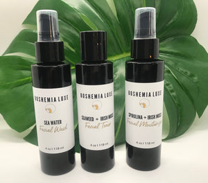 Luxurious Small Batch Vegan Spirulina and Irish Moss Facial Moisturizer - Boshemia Skin