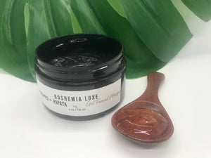 Luxurious Small Batch Vegan Pineapple Papaya Gel Masque - Boshemia Skin