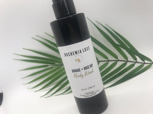 Luxurious Small Batch Vegan Body Wash By Boshemia Body