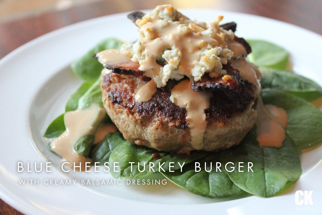 Blue Cheese Turkey Burger