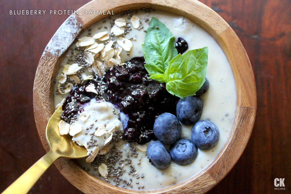 Blueberry Protein Oatmeal