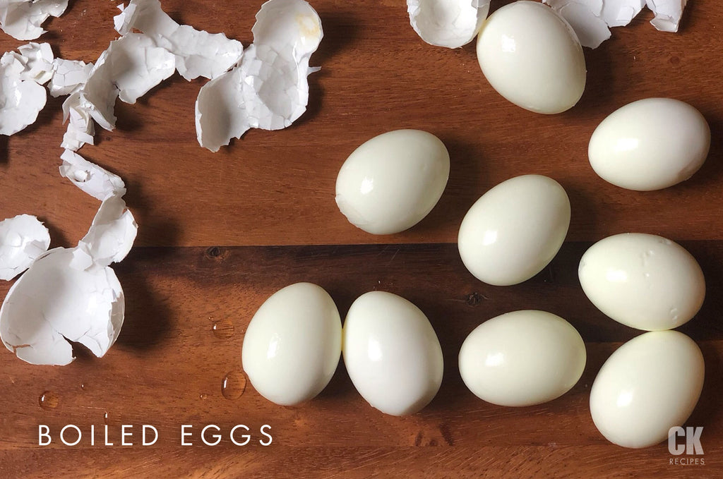 The Perfect (easy to peel) Boiled Eggs