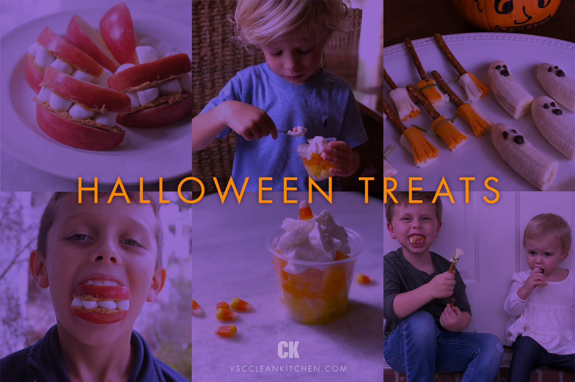 Healthy Halloween Treats for kid parties!