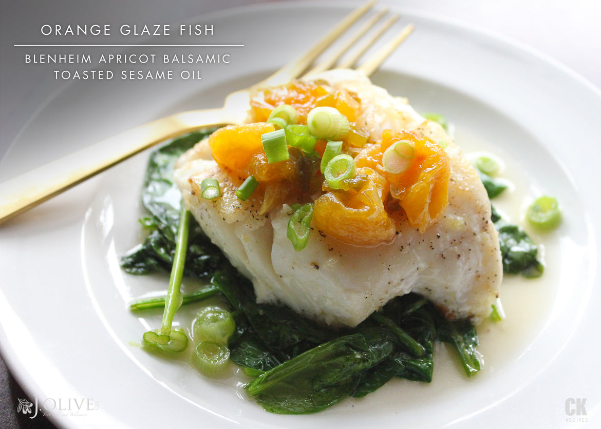 Orange Glaze Fish