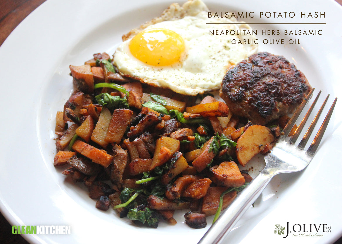 Balsamic Potato Hash