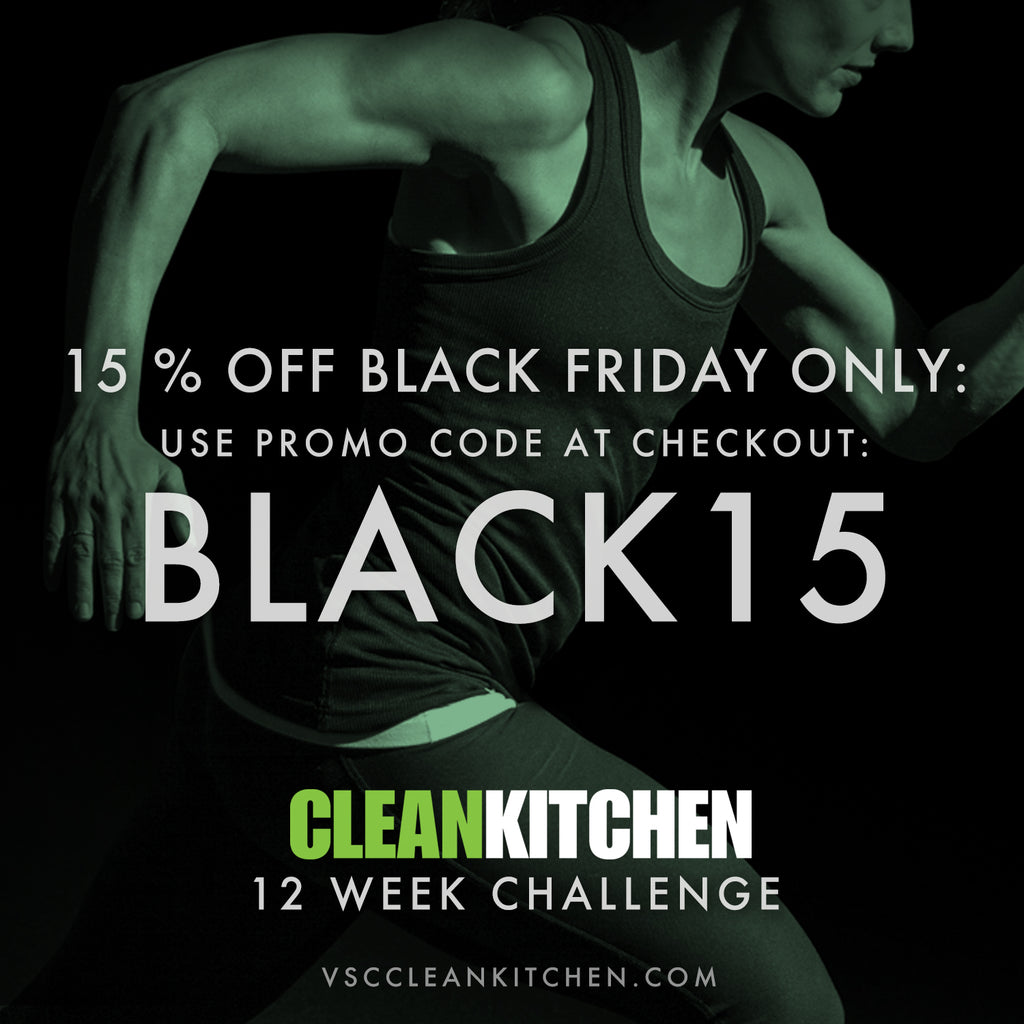 Clean Kitchen Black Friday Sign up 15% OFF!