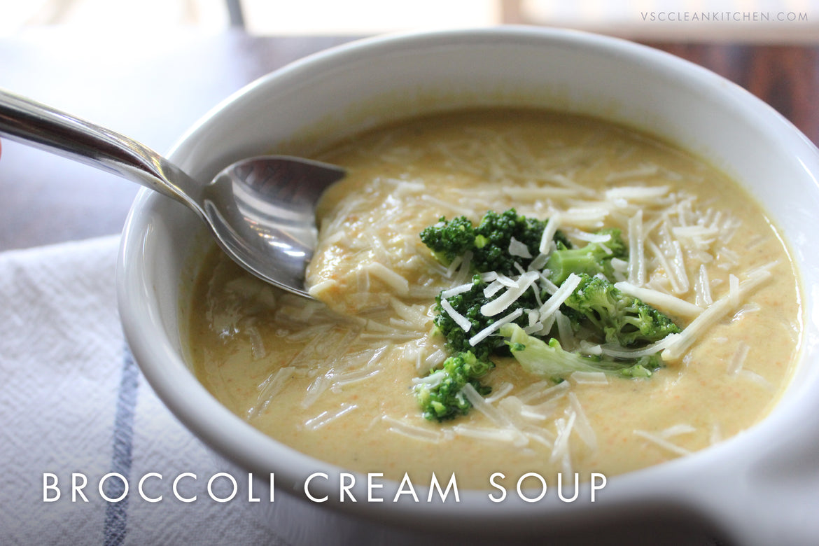 Crock Pot Broccoli Cream Soup
