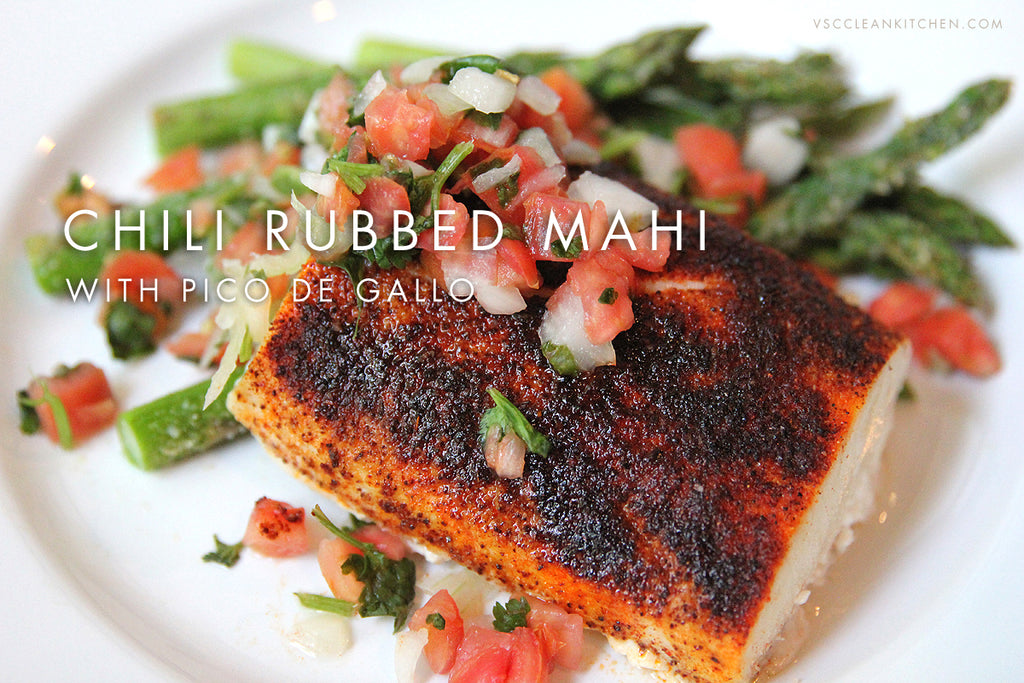 Chili Rubbed Fish
