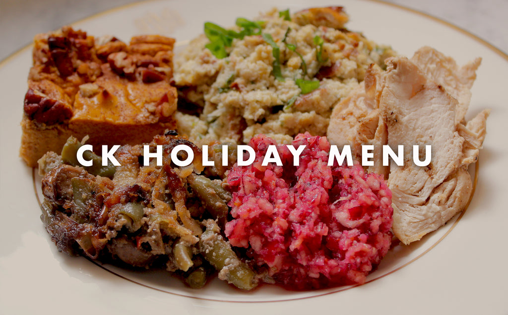 CK Holiday Menu