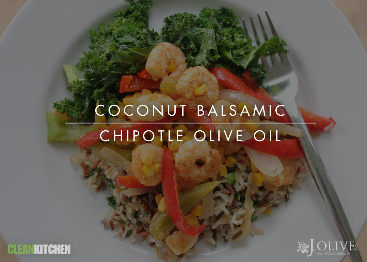 Coconut Balsamic + Chipotle Olive Oil