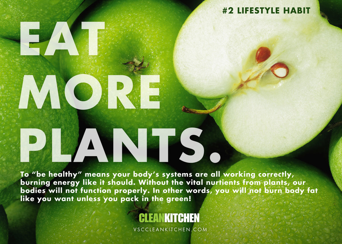 #2 Lifestyle Habit: Eat more plants!