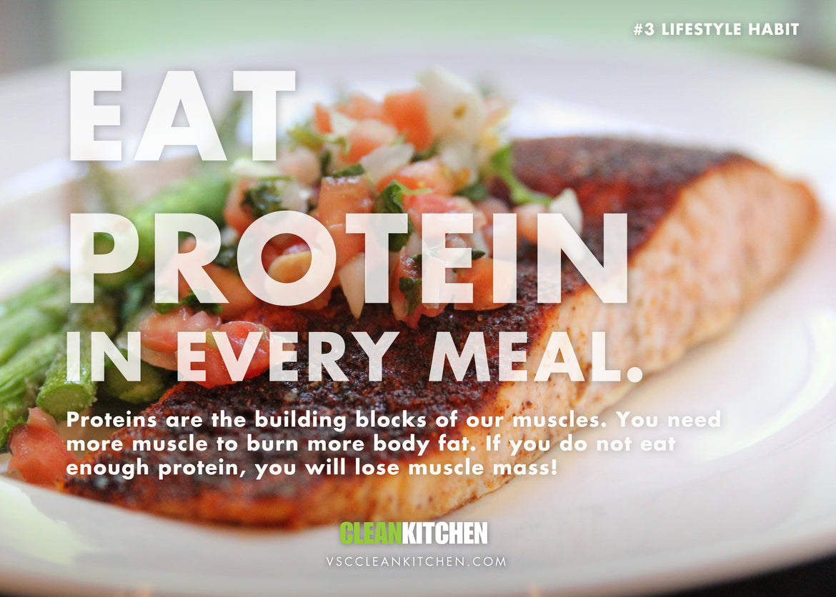 Lifestyle Habit #3: Eat More Protein