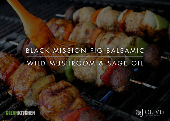 Black Mission Fig + Wild Mushroom & Sage