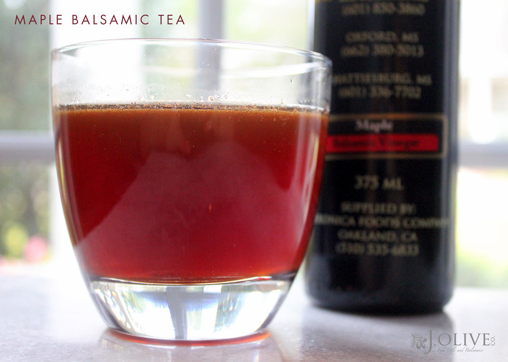 Maple Balsamic Tea