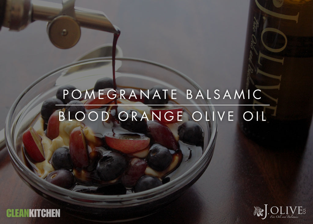 Pomegranate Balsamic + Blood Orange Olive Oil
