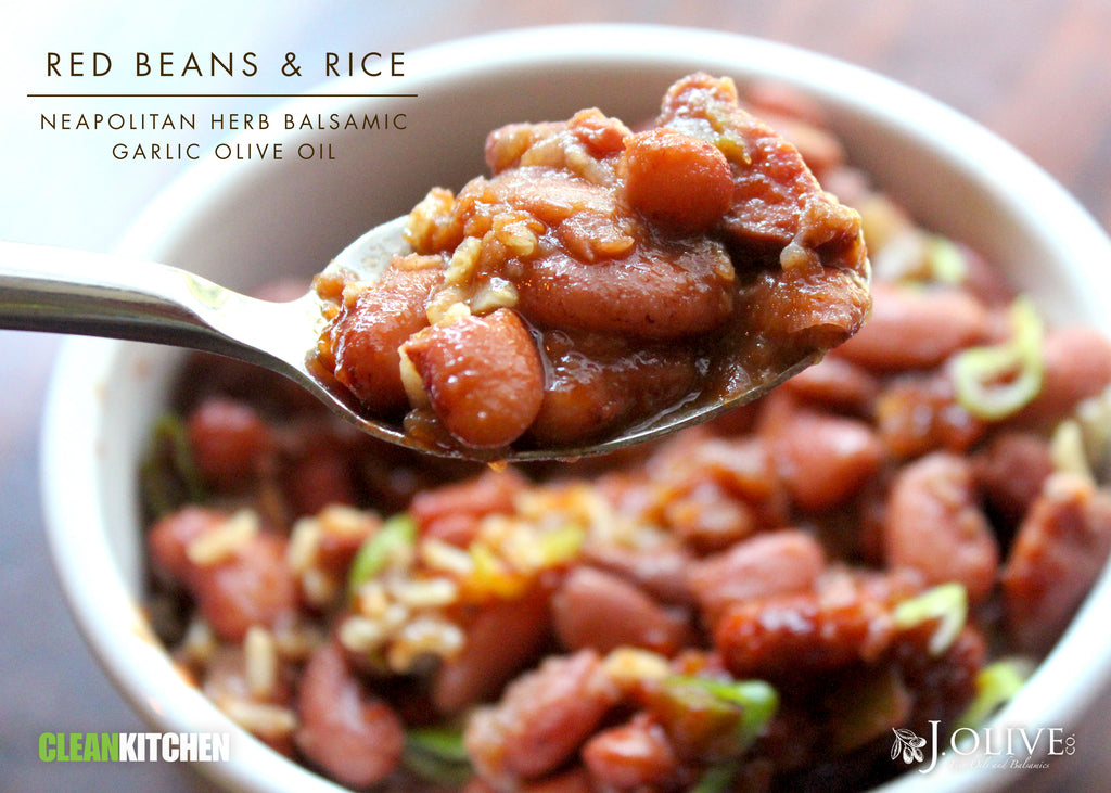 "Red Beans & Rice with ""ketchup"""