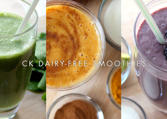 Perfectly Portioned, dairy-free Smoothies