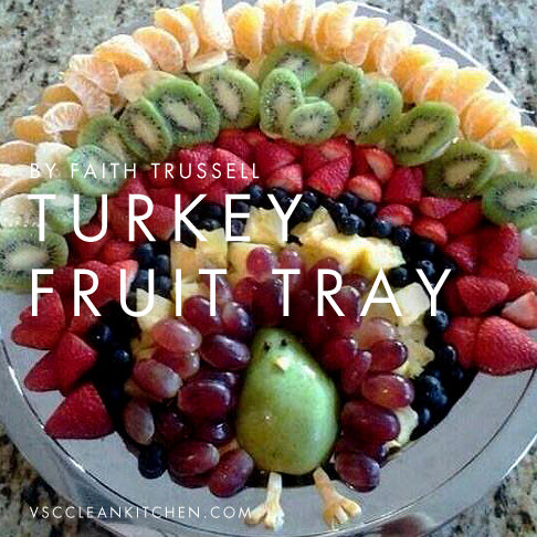 turkeyfruittray