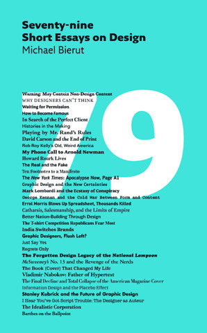 79 SHORT ESSAYS ON DESIGN BY MICHAEL BIERUT