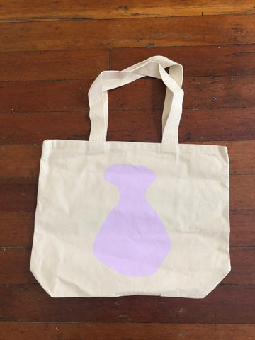 Cotton Tote bag by Mary Elizabeth Yarbrough