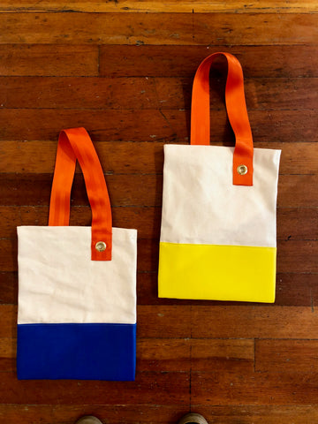 Hand Made Tote Bag by May Wilson