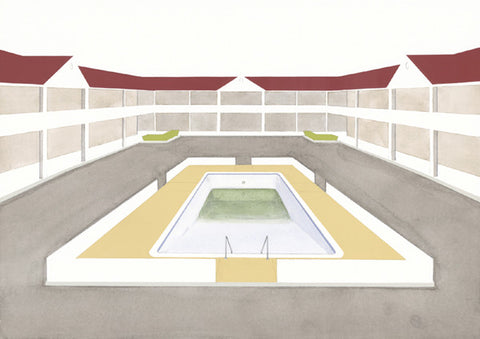 Chris Ballantyne Untitled, Pool (Hotel) Giclee Print