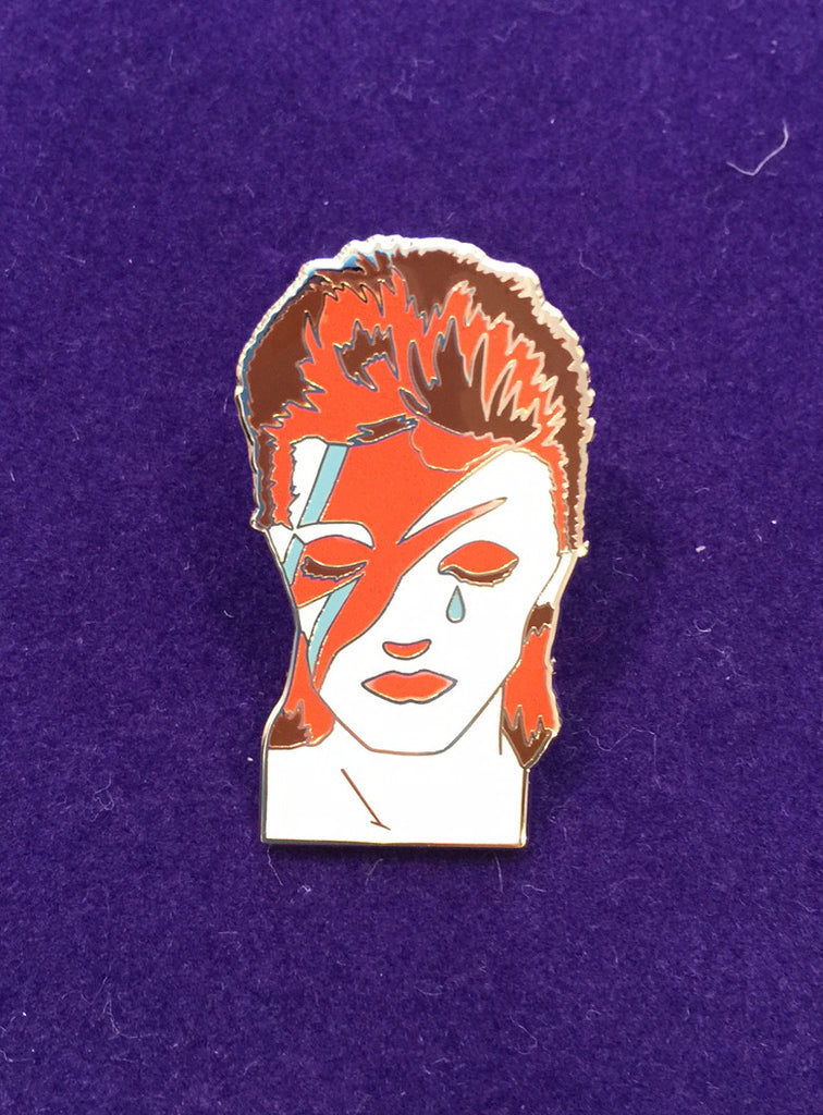 David Bowie Tribute  - Enamel Pin - Back In Stock!