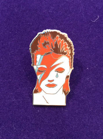 David Bowie Tribute  - Enamel Pin
