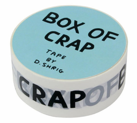 David Shrigley Packing Tape (Box of Crap)