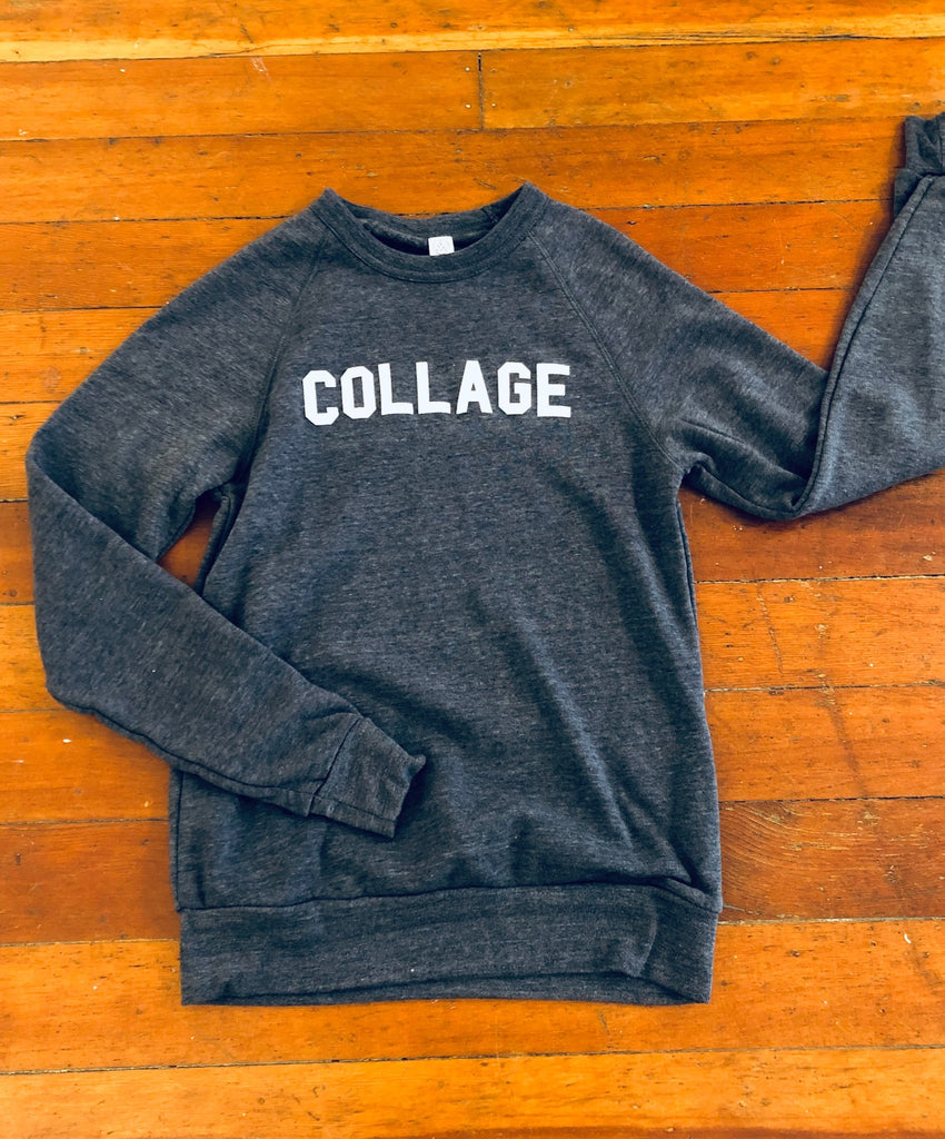 COLLAGE Crew Neck Sweatshirt