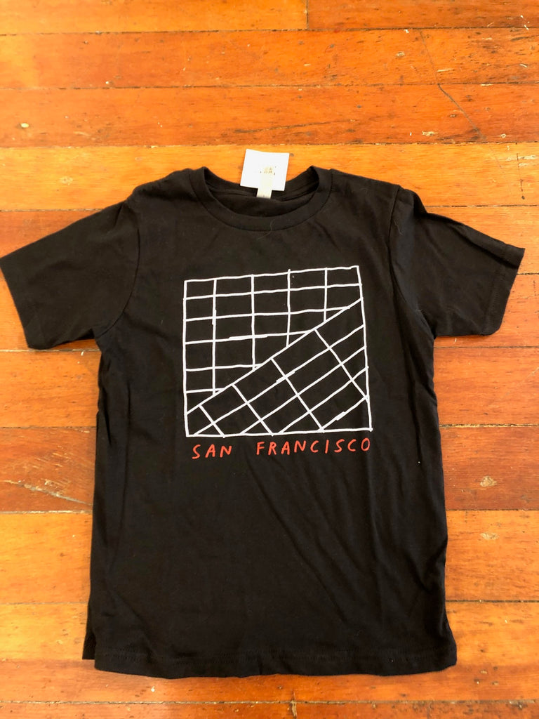 San Francisco Grid TEE KIDS