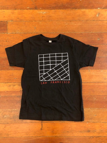 SF Grid Tee by Tucker Nichols - Kids