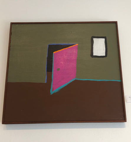 Joe Ferriso Painting (pink door)