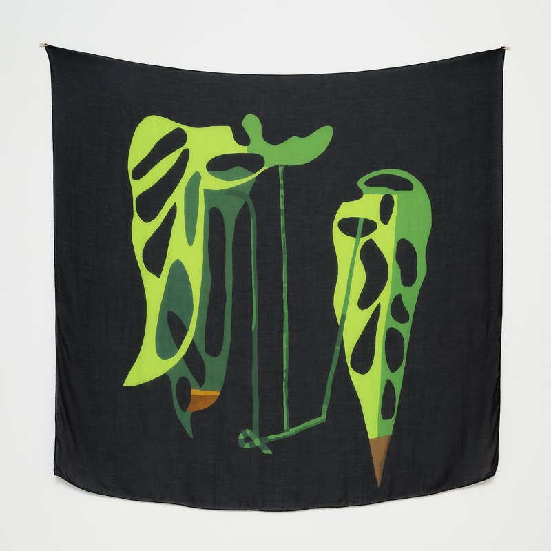 Jonas Wood Silk Scarf - Clipping