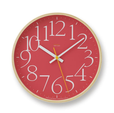 Lemnos Garamond Wall Clock