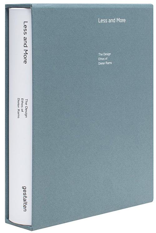 DIETER RAMS - LESS AND MORE (SLIPCASE EDITION)