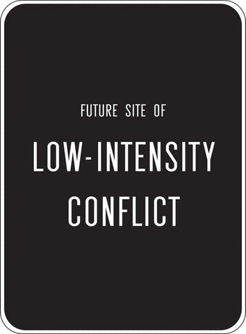 ANTHONY DISCENZA LOW-INTENSITY CONFLICT