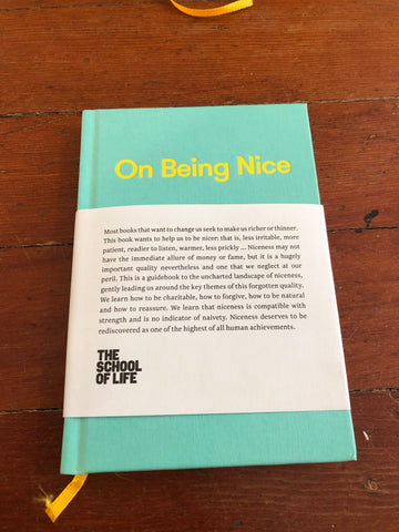 On Being Nice - School of Life