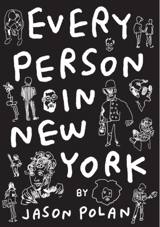 Jason Polan // Every Person In New York Vol. 2