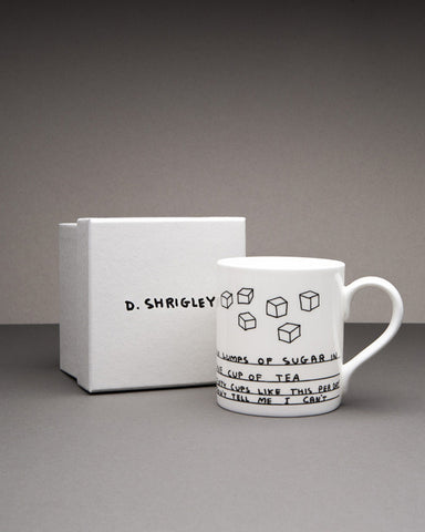 DAVID SHRIGLEY SALT + PEPPER SHAKERS