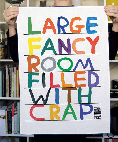 SHRIGLEY TEA TOWEL (CRAP)