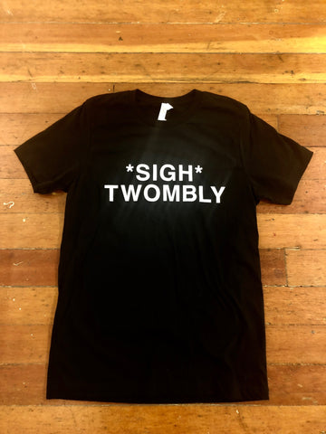 *SIGH* TWOMBLY Mens Tee by Mitsu Okubo