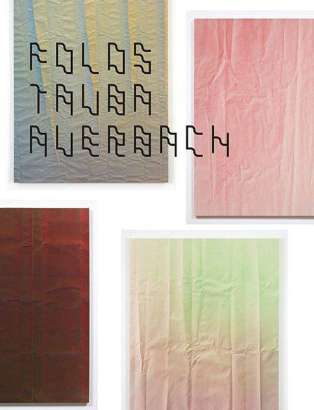Tauba Auerbach - Folds Paintings