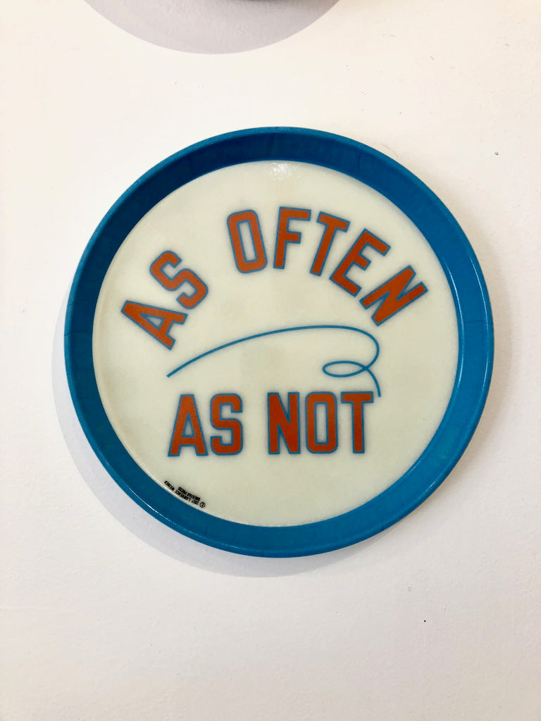 Lawrence Weiner Tray